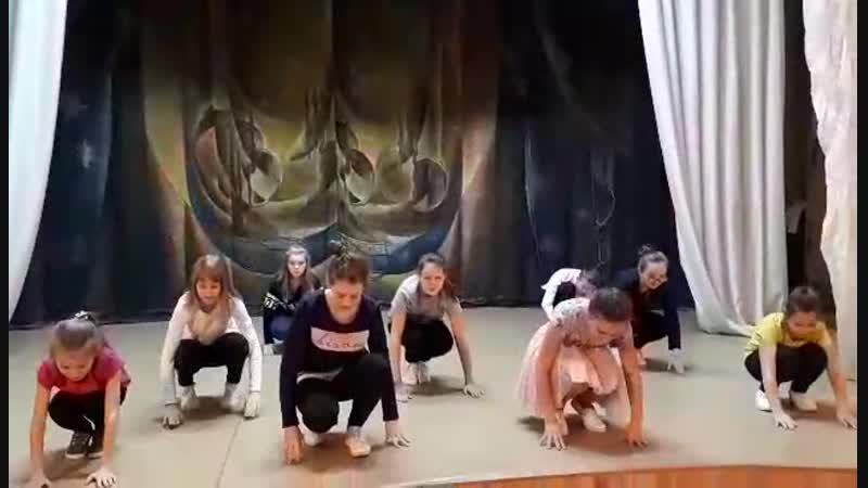 Танец Бум (рабочие моменты)
