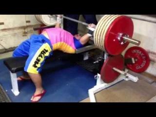 Strongyas Bench Press 275kg @81kg ベンチプレス