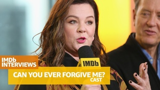 'Can You Ever Forgive Me?' Star Melissa McCarthy and Cast Talk Identity Theft and Human Connection