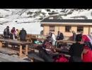 Парапланерист приземлился на головы туристов в Хибинах