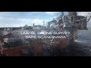 DNV GL offshore drone survey on board Safe Scandinavia