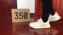 2019 Yeezy 350 V2 Triple White BASF Version On Feet