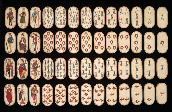 Самая старая колода карт в мире, из сохранившихся.