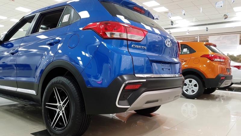 Hyundai Creta with Brutal Custom Alloy and Bumper Marina Blue Passion Orange Polar White 4K 60FPS