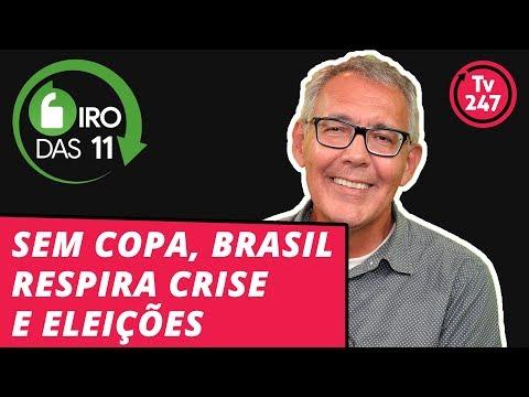 Giro das 11, com Mauro Lopes sem Copa, Brasil respira crise e eleições