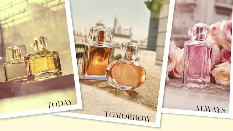Avon Today, Tomorrow, Always-the fragrance collection