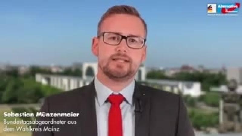 07-05-2018 Sebastian Münzenmaier AfD- Mainz - Iraker tötet 14 jähriges Mädchen