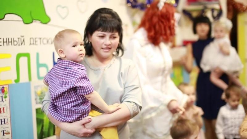 Частный детский сад Ясельки. Преображенская 29 корп2. Новогодний утренник 2019года