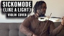 SickoMode (Like A Light) - Travis Scott fr. Drake (Violin Cover by Marvillous Beats)