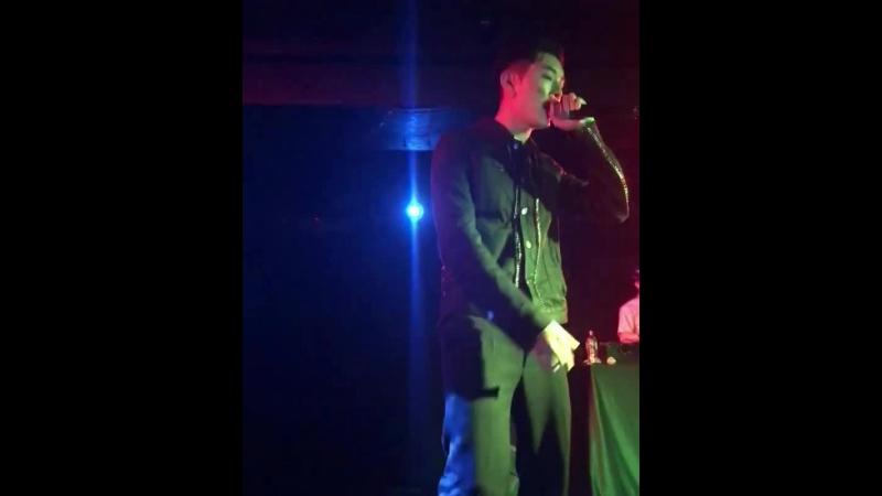 [Fancam cuts] 180416 Rockbottom (Kidoh) 2018 Live in Europe in London - cr. @pivyq (ig)