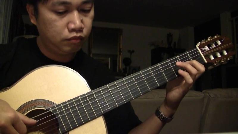 Bayan Ko C De Guzman arr Jose Valdez Solo Classical Guitar