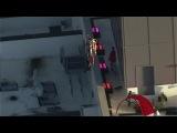GoFast jetpack pilot cirlces Denver hotel