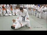 Дзюдо видео уроки. Основы борьбы лёжа. Hiroshi Katanishi.