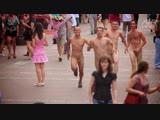 Russian Cfnm (Moscow Arbat Street Naked Run)