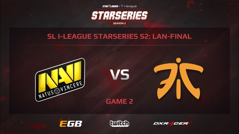 Na`Vi vs Fnatic, Game 2, SL i-League StarSeries S2, LAN-Final