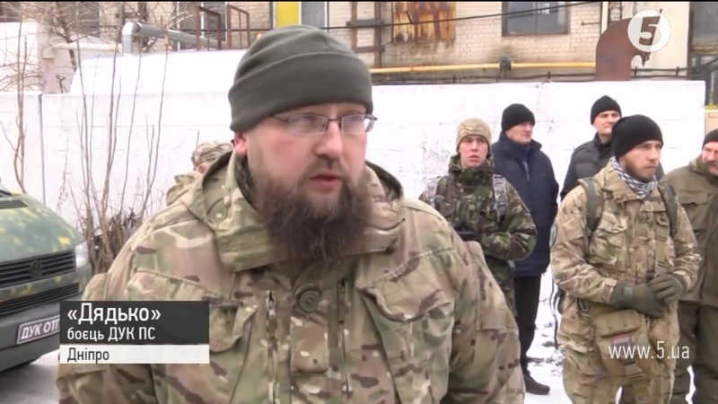 Дніпровці провели в останню путь росіянина, який воював за Україну (1)