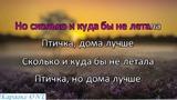 Началова Юлия Птичка Синичка 2 Караоке версия Full HD