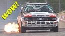 Rally Legend San Marino 2017 - Klausner Show! - EPIC Flames, Jumps Powerslides!