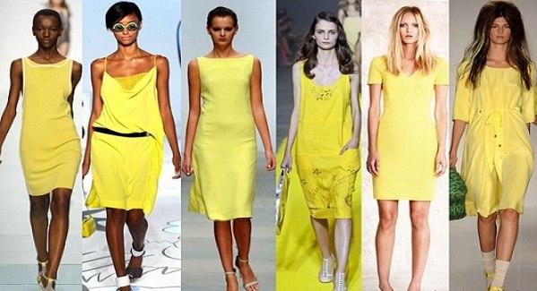 Желтое платье макияж золотистые волосы