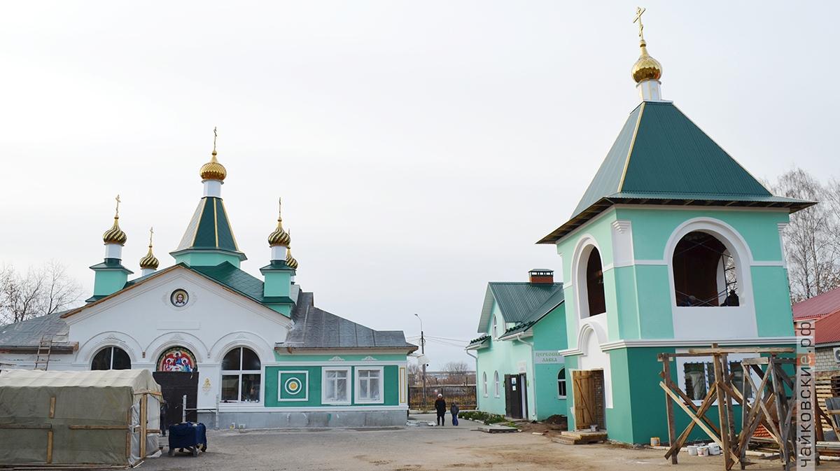 купола на храм, чайковский район, 2018 год