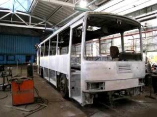 Кузовной ремонт ЛАЗ 4207 ( Опыт более 200 автобусов)