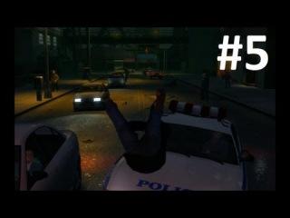 GTA IV - Приколы, Трюки и Аварии! (Stunts, Crashes and Fun!) #5