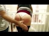 Хорошенько отшлепал по жопе молодую покорную горничную [ попа попка упругая задница жопа наказание не порно домашнее рабыня секс