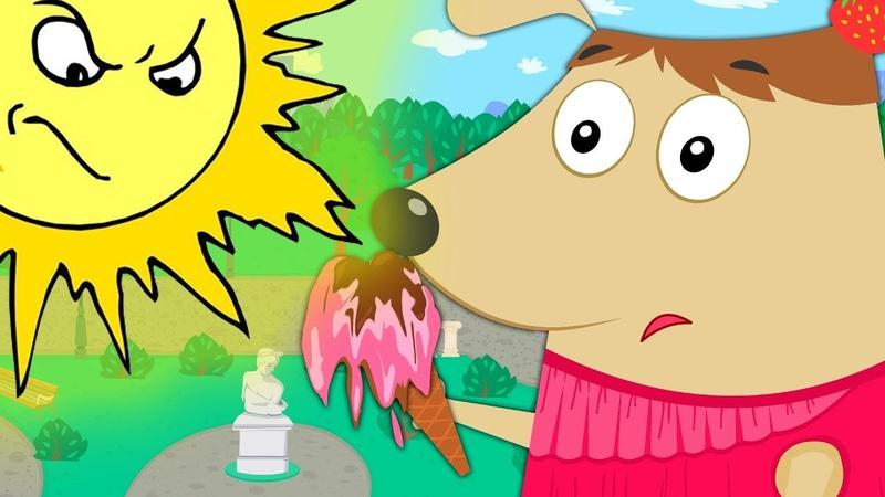 Щенки Бублик и Кисточка | Жаркий летний день | Гав-Гав-Гав - Мультик для детей