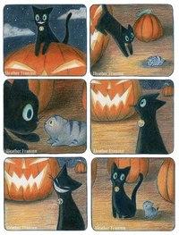 Комикс «Приключения маленького котёнка» от Heather Franzen.