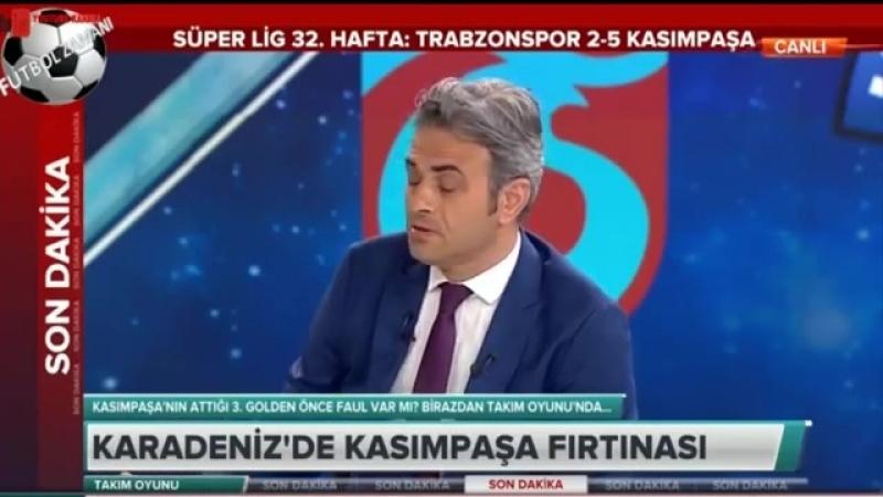 Trabzonspor 2-5 Kasımpaşa maç sonu Erman Toroğlu yorumları