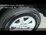 2008 Chrysler Aspen Limited 4x2 4dr SUV for sale in Monroe,