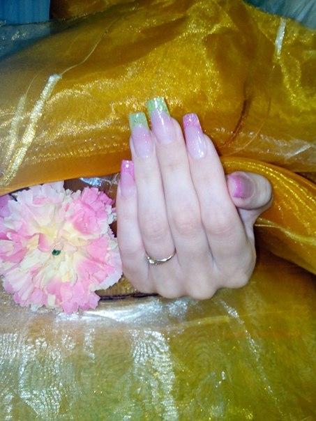 Второй день практики курса Базового наращивания ногтей