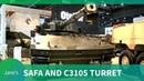 IDEX 2019: SAFA Modular Tracked Vehicle and Cockerill C3105 Turret