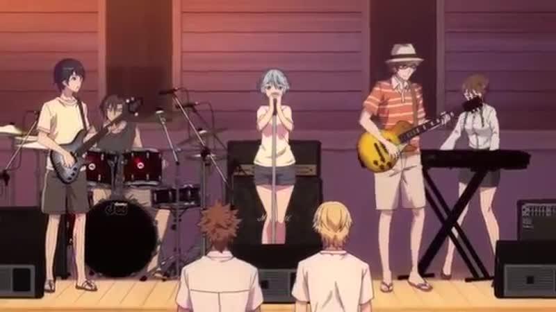 Музыкальный момент из аниме Fuuka episode 4