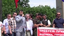 Батальон ВОСТОК на митинге 25 мая 2014 г Донецк