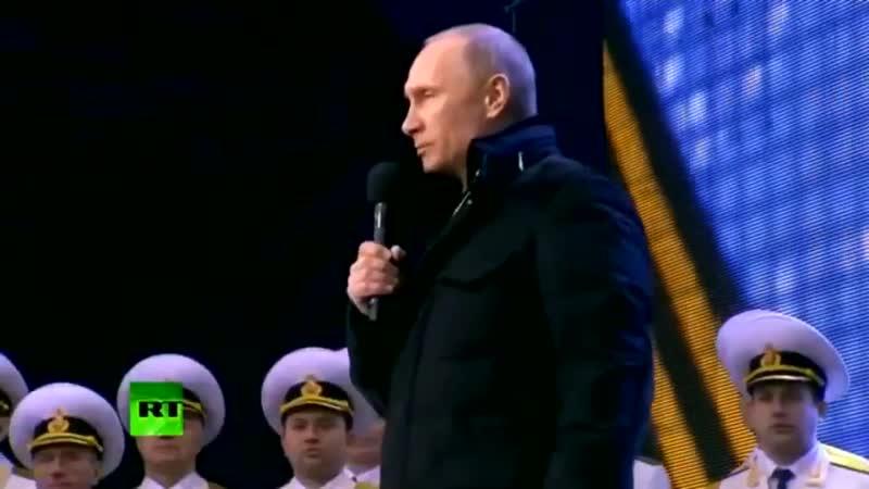 После тяжёлого, длительного плавания Крым и Севастополь возвращаются в родную гавань, в порт постоянной приписки, в Россию!