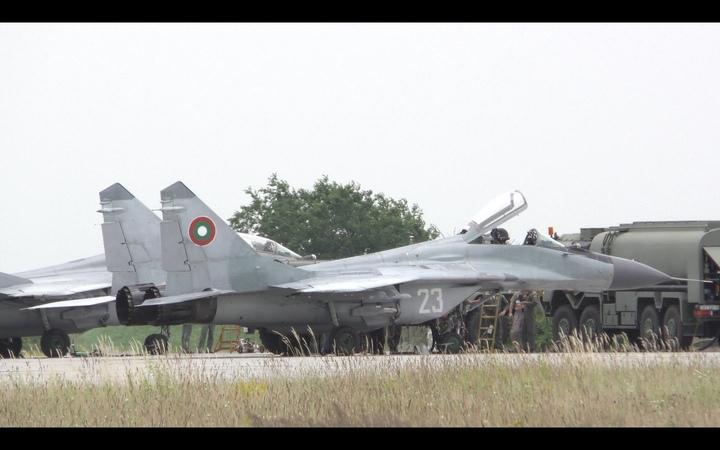 Bulgarian Air Force MiG-29 Fulcrums at Kecskemét AFB [4K - 50p]