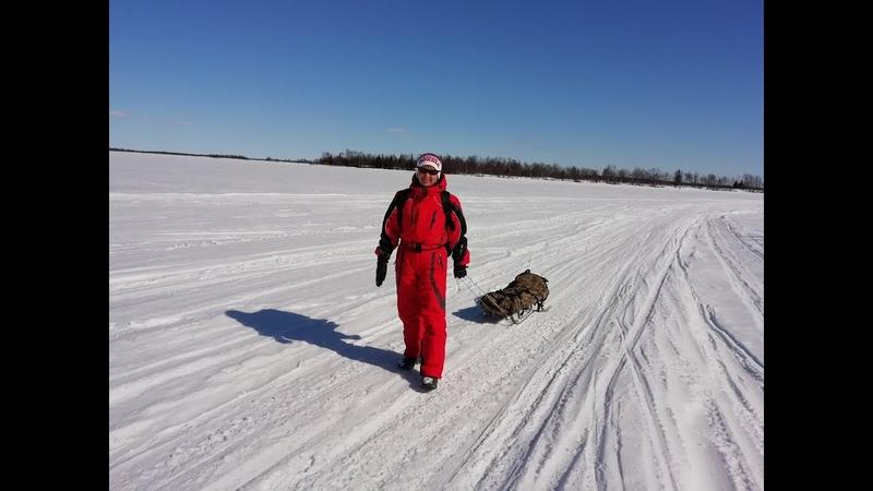 На озере Ловозеро в Первомай