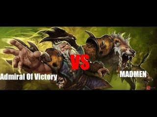 Admiral of Victory vs MadMen| GloomDota