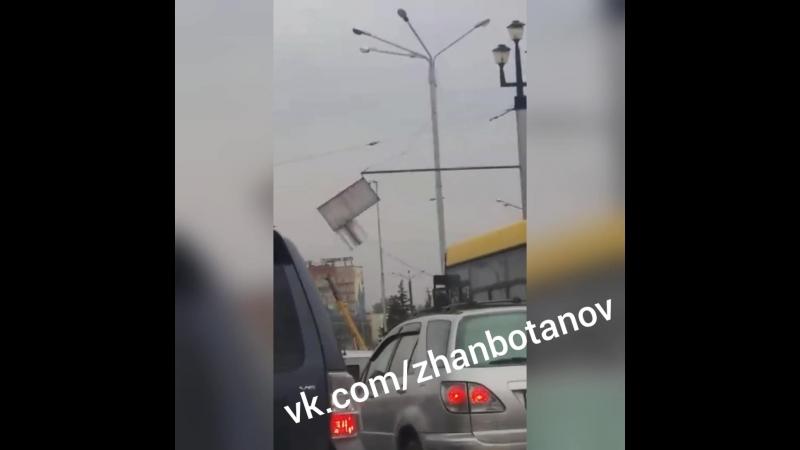 Усть Каменогорск мост через Ульбу дорожные знаки