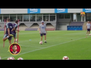 This is how Barça takes aim for target practice.mp4