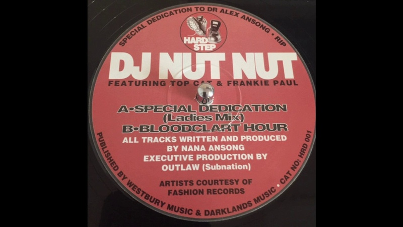 DJ Nut Nut feat Top Cat Frankie Paul - Special Dedication (Ladies Mix)