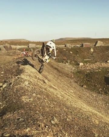 "Motocross on Instagram: ""Wicked Bike Control😳  Follow @motovideos for more! @billybolt57 motovideos"""