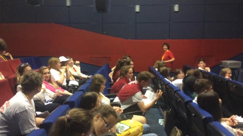 Пресс-центр школы №1 на финале медиашколы РДШ в Москве. (vk.com/vguse) вГусе