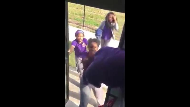 Karr school bus fight