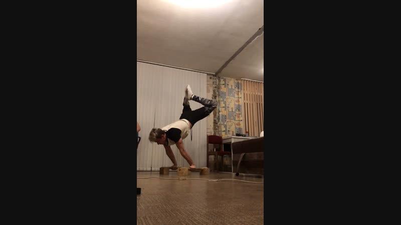 Тренировка planche