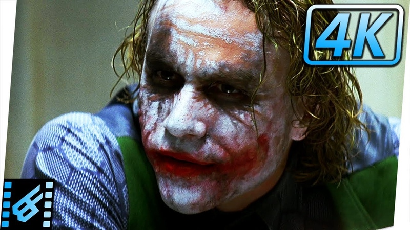 Joker Interrogation Scene | The Dark Knight (2008) Movie Clip
