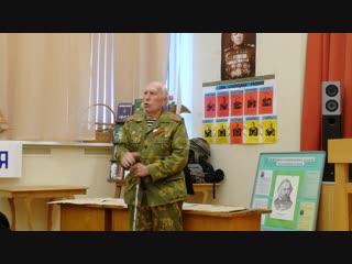 Харичев Виктор Николаевич. Слова напутствия кадетам и учащимся колледжа