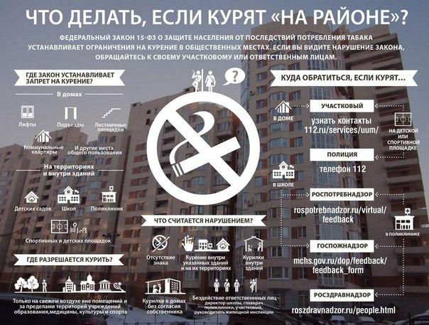 Не забываем про новый закон. Памятка курильщикам.