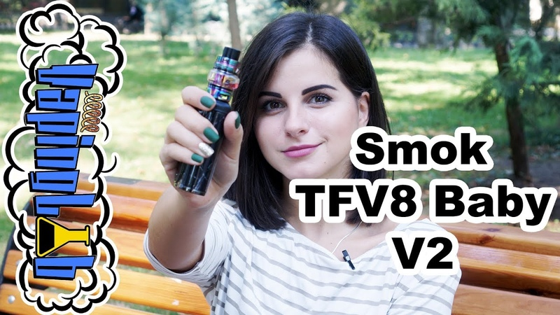 SMOK TFV8 Baby V2 Tank. Вкуснее чем RTA?